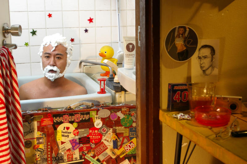 Self-Portrait - Santa Claus(聖人苦労巣)